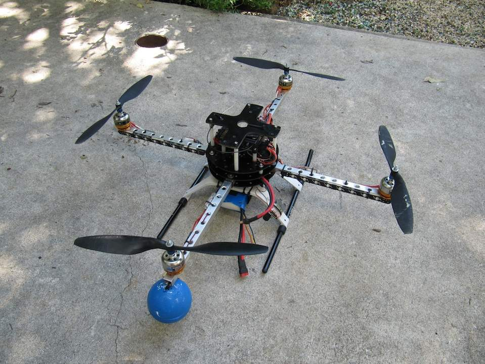 SOLD- Quadcopter-ARF-Rusty\'s Rev-7 frame, QP FC board, + extras - US ...