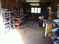 Name: joshs photos 145.jpg Views: 65 Size: 190.6 KB Description: Ive also just moved house and this is the new workshop! Bigger, and heaps more benches. I just need to do a hot box and i'll be back in action baby!