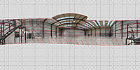 Name: Hangar-Panoramaeditor.jpg Views: 82 Size: 312.3 KB Description: Panoramaeditor of PTGUi 9.1.3 Pro - two rows plus one third-row-image