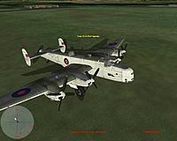 Name: cfs3#3.jpg Views: 153 Size: 175.1 KB Description: A friend has made a Coastal Command Handley-Page Halifax livery for the RAF Halifax it's a pretty nice version.