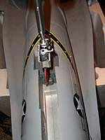 Name: CIMG4840.jpg Views: 169 Size: 23.8 KB Description: Front Landing Gear servo is reversed, when in up position servo is inside airframe