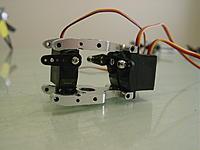 Name: Solar D654 450 Pro.jpg Views: 134 Size: 72.1 KB Description: Solar digital D654 MG servo's mounted in 450 Pro bearing blocks