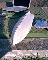 Name: hull 4.jpg Views: 376 Size: 115.1 KB Description: lots of sanding later :)