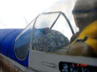 Name: DSC05103.jpg Views: 196 Size: 46.0 KB Description: Reflector gunsight and cockpit detail