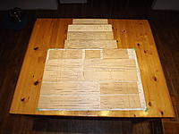 Name: Photo 1.jpg Views: 51 Size: 906.9 KB Description: The prototype short kit spread out over the plans on my cottage kitchen table.