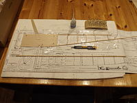 Name: Photo 5.jpg Views: 44 Size: 988.6 KB Description: Right hand fuselage side on the building board.