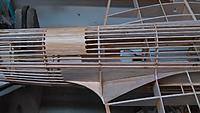 Name: IMG_20191109_204206.jpg Views: 7 Size: 1.14 MB Description: Dorsal turret seat was infilled, sanded, spackled and lacquered.