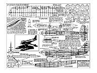"""Name: Supermarine S6B Plan.jpg Views: 95 Size: 95.6 KB Description: I enlarged this Peerless Supermarine S.6Bplan to 70.5"""" span and cut wing ribs and fuselage formers for it."""