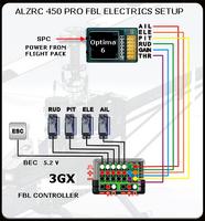 alzrc 450 pro kit combo page 9 rc groups rh rcgroups com Trex 450 Size Comparison T-Rex 450 Pro