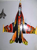 Name: PICT0685.jpg Views: 288 Size: 68.0 KB Description: Max Jet - Tiger Scheme F/A 18. HobbyWing 64mm 4s Setup