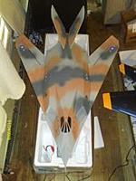 Name: IMAG0281.jpg Views: 274 Size: 9.6 KB Description: Max Jet - F117 Camo 64mm EDF 3s Setup