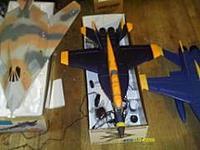 Name: IMAG0279.jpg Views: 266 Size: 8.5 KB Description: J-Power F-18 Blue Angel's 3s 64mm Setup.  This Model is Discontinued.