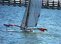 Name: MPX Fire Arrow-First Full Flying Foiling on video-7-24-14 011.JPG Views: 173 Size: 364.9 KB Description: