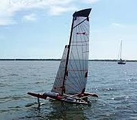 Name: Fire Arrow 2nd sail.jpg Views: 72 Size: 7.4 KB Description: