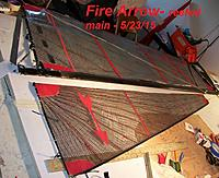 Name: Fire Arrow reefed main---5-23-15 004.JPG Views: 46 Size: 317.6 KB Description: