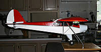Name: side2.jpg Views: 473 Size: 94.0 KB Description: Side view with bubble level on wing tip and sticky weights on cowl