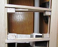 Name: Wing-2-07.jpg Views: 178 Size: 237.8 KB Description: the chunks of harder balsa left over Spar I used for corner anchors on the servo mount