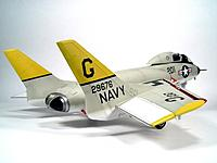 Name: F7U_aft.jpg Views: 73 Size: 35.3 KB Description: This is the scale model that inspired me. I long suspect the Parkzone F27 series were inspired by the F7U. The original Cutlass was underpowered carrier-based fighter, once part of Blue Angels, but poor safety record. She was almost concurrent with F-86 S