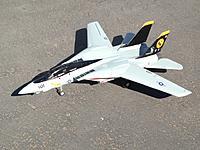 Name: F-14.jpg Views: 5 Size: 155.2 KB Description: Art-tech F-14 twin 55mm. retract mod. Late 2015