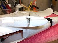Name: DSCF1685.jpg Views: 375 Size: 149.1 KB Description: f) Wing root/mount
