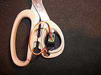 Name: DSCF1740.jpg Views: 297 Size: 301.3 KB Description: j) Turnigy 1440A servo with its bottom off. The wires shown were replaced with longer ones