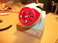 Name: DSCF1760.jpg Views: 265 Size: 157.1 KB Description: m) Motor mounted. I soldered the motor and ESC wires, easier than trying to fit connectors in especially as the wires run past the spinning motor bell-housing.