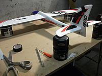 Name: DSCF1778.jpg Views: 259 Size: 180.7 KB Description: n2) & n3) Refitted stab & sat on spacers