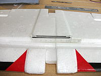 Name: DSCF1976.jpg Views: 178 Size: 133.4 KB Description: Wing connector made from a perspex ruler and o-ring. Shown prior to the foam covers being glued in.
