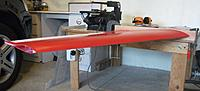 Name: DSCF3009.jpg Views: 85 Size: 117.2 KB Description: Wing now held by rods only.