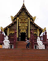 Name: .jpg Views: 71 Size: 164.0 KB Description: A type of Buddist temple.  (That's me clowning around on the steps.)