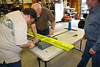 Name: .jpg Views: 39 Size: 243.3 KB Description: Chip, Jim and Joe working on the prop installation.