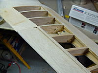 Name: SAM_2971.jpg Views: 51 Size: 71.3 KB Description: you can see in this pic the spars i replaced the balsa for the spruce ,,no much difference on weight but a really difference in strength