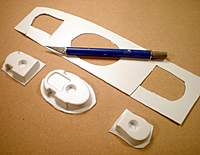 """Name: DSCN0777.jpg Views: 228 Size: 79.0 KB Description: Trim the flange around the formers as you did the fuselage shells, to within 1/4"""" of each part"""