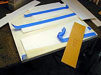 Name: 1, Sanding BOTTOM of RIGHT Wing Panel.jpg Views: 448 Size: 94.5 KB Description: Sanding BOTTOM of RIGHT Wing Panel