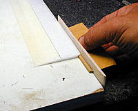 Name: 12, Slotting Groove in LE with slotting tool on it's side.jpg