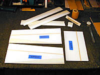 Name: 15, Wing components sanded and grooved with spars.jpg Views: 414 Size: 112.2 KB Description: Wing components sanded and grooved with spars