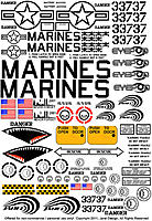 Name: FINAL DECAL SHEET, for posting.jpg Views: 199 Size: 218.6 KB Description: decal sheet for UAV... I don't think this will print to correct scale. Once the kit is released, I'll have a 1:1 full scale copy posted as a PDF document avaialbe on my website (free of course!)