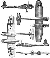 Name: Blohm&Voss-BV-141-Nazi-Experimental-Recon-Aircraft-3-View.jpg Views: 231 Size: 27.7 KB Description: