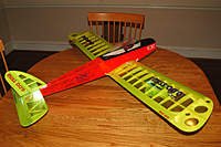 Name: Scorpio Miss Acro.jpg Views: 175 Size: 81.2 KB Description: Great low wing aileron trainer. Slow, gently flight.