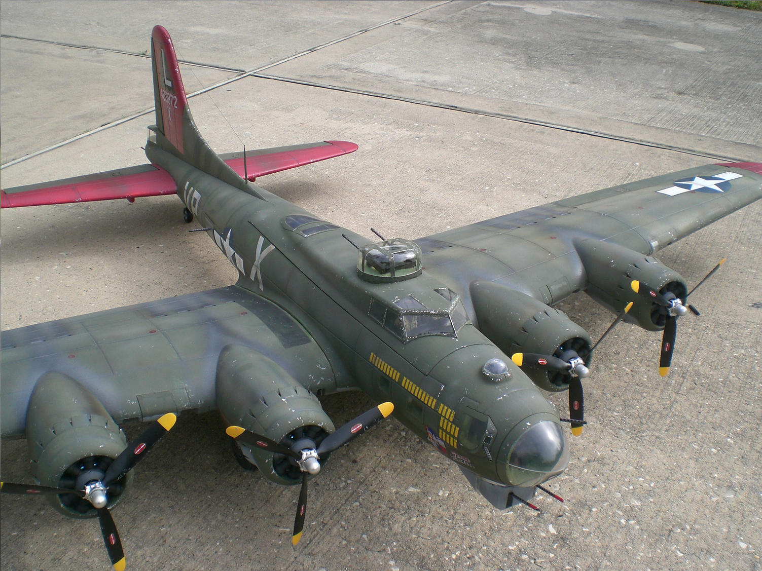 "Foamie B-17 Scale Build Thread - ""Texas Raiders"""
