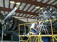 Name: 2011-07-09_10-44-43_758.jpg Views: 209 Size: 265.0 KB Description: Engine maintenance performed on Wright Cyclone R1820s