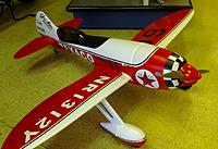 Name: res1.jpg Views: 51 Size: 171.6 KB Description: Gee Bee R3. Very cool. 1.4m Big foamie with an Sbach motor.