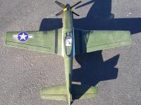 Name: p-51 007.jpg Views: 111 Size: 155.2 KB Description: Top view showing the nice weathering from the guns