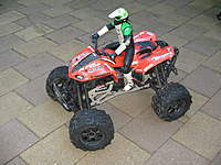Name: 021.jpg Views: 201 Size: 106.0 KB Description: Hpi Savage X With Truckzilla Sport 1in Longer Chassis & Cen .46 (7.7cc)Engine & 220cc Fuel Tank.