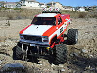 """Name: BlackFT14.jpg Views: 241 Size: 138.1 KB Description: The body was actually in great condition, and took to primer and paint very well. I have more than enough in my collection. My """"Baja Blackfoot"""" will be the last."""