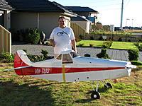Name: Big Bertha.jpg Views: 113 Size: 306.9 KB Description: 46% Piper Pawnee Glider Tug, coming soon to Kams :)
