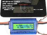 Name: 2814_10x45_50%.jpg Views: 119 Size: 67.0 KB Description: APC 10x4.5 MR - 50% throttle
