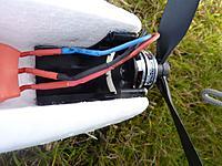 Name: P1200524.jpg Views: 375 Size: 87.4 KB Description: BL motors bolted on the original plastic bulkheads
