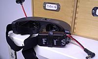 Name: 20141214_095210.jpg Views: 56 Size: 166.6 KB Description: A velcro strap around the battery is necessary or the battery slides and hangs by the connector....
