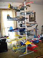 Fun With Pvc Part Ii Stand Alone Airplane Rack Rc Groups